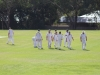 First innings over