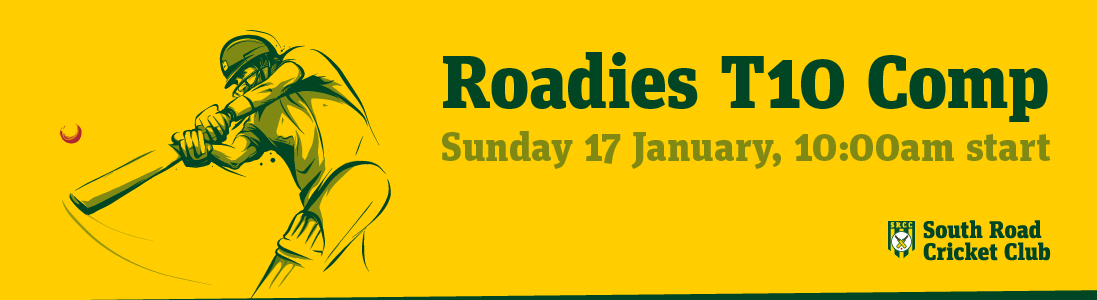 Roadies T10 Comp, Sunday 17th January 2021